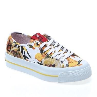 Date Ayakkabı Beyaz